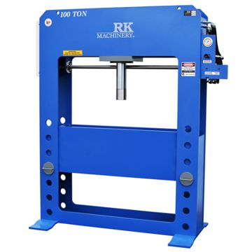 RK 100 Ton Hydraulic H Frame Press